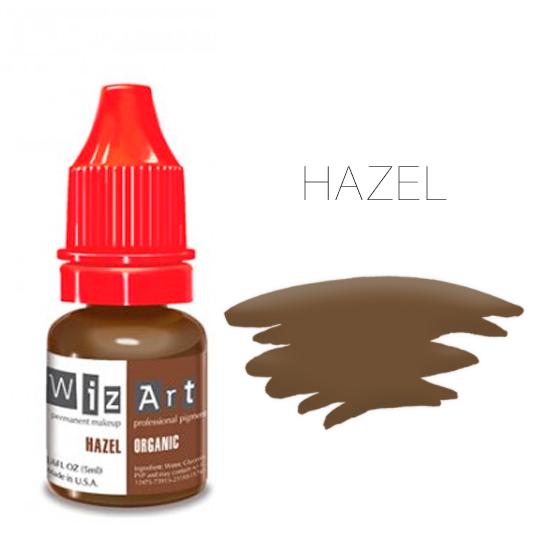 Пигмент WizArt Organic Hazel 5 мл. для татуажа и перманентного макияжа