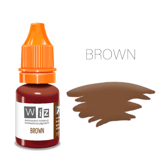 Пигмент WizArt Strong Brown 5 мл