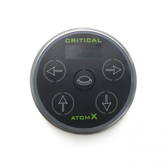 Цифровой блок питания Critical Atom X Black для татуажных машинок